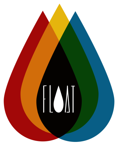 3drops with float