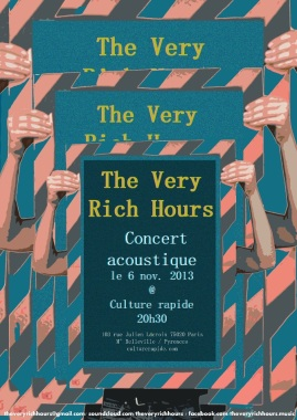 TVRH concert at Culture rapide, 2013