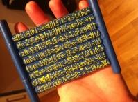 Coaster made of disposable e-cig