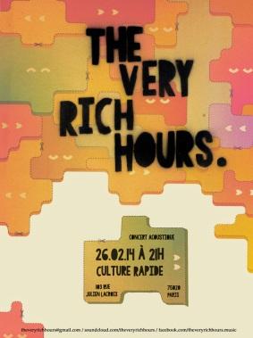 Poster Culture rapide TVRH, 2014