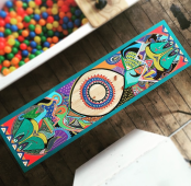Hand drawn table