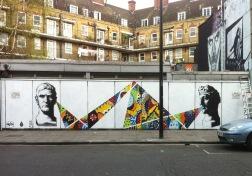 Collab with PANG, Camden - London, 2015