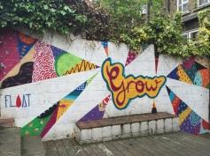 """Grow"", Crouch end, London April 2015"
